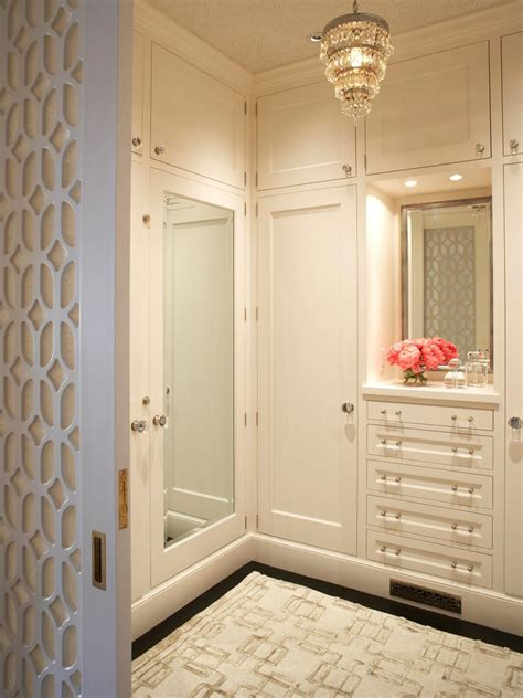 small bedroom with walk in closet 10 stylish walk in bedroom closets hgtv