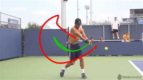 backhand swing fernando verdasco backhand no racquet youtube