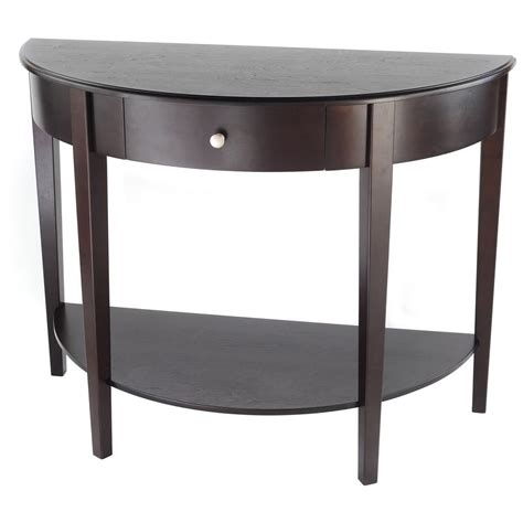 half moon table with drawer large half moon table with drawer 236454 living