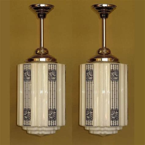 large deco commercial fixtures 1920s at 1stdibs