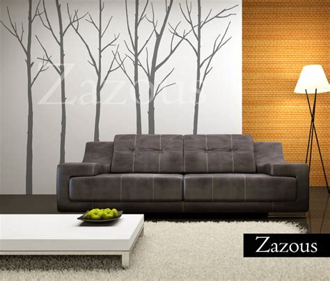zazous wall stickers winter trees wall sticker by zazous notonthehighstreet