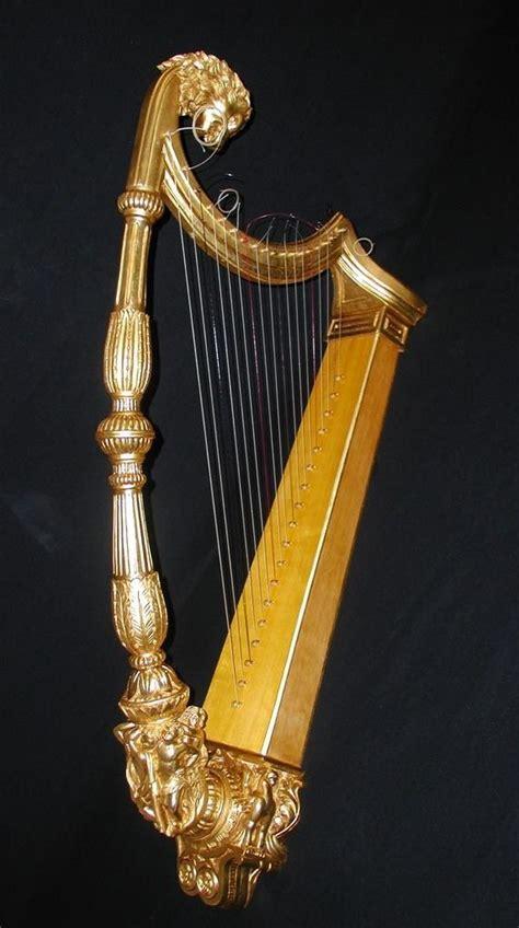 imagenes de instrumentos musicales medievales arpas antiguas de espa 209 a arpas medievales