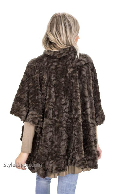 Coffe Bolero rosa faux fur open bolero shawl in coffee japfu70182cf pretty shawl 36 00