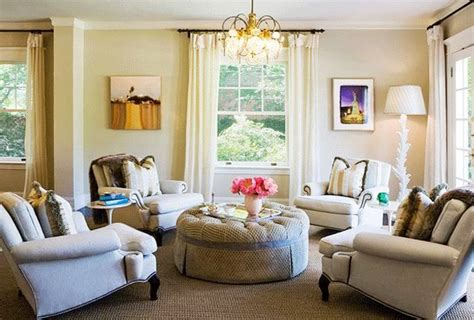 living room conversation area furniture arrangement without a sofa for the home