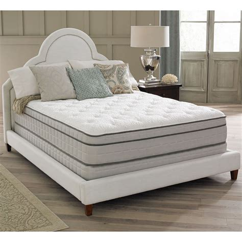 pillow top king bed spring air premium collection antoinette pillow top king