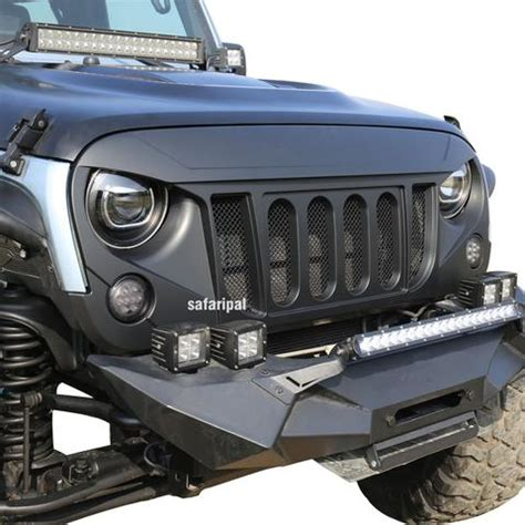 jeep wrangler front grill safaripal jeep parts accessories for jeep wrangler