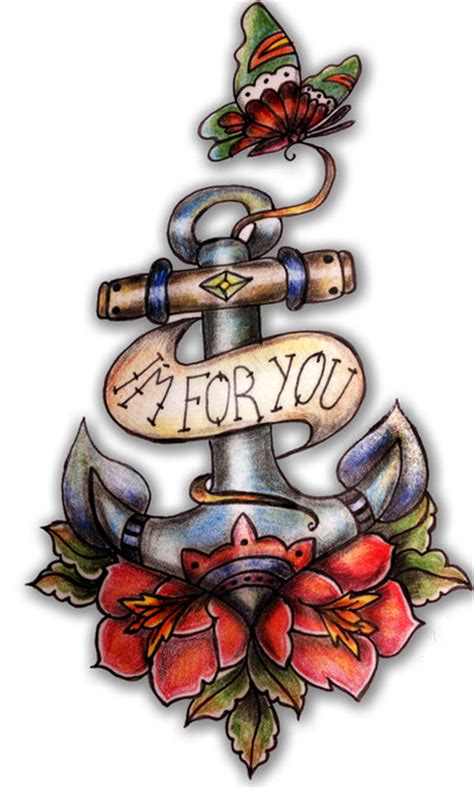 tattoo old school catalogo anchor rose butterfly old school tattoo by pompelina on