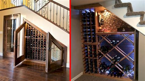 under stairs wine cellar cool wine cellar under stairs wine storage ideas youtube