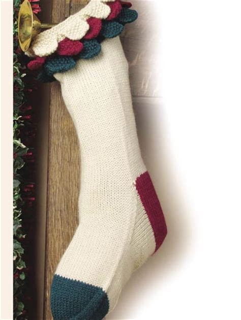 free knitting pattern for large christmas stocking free christmas knitting patterns patches christmas stocking
