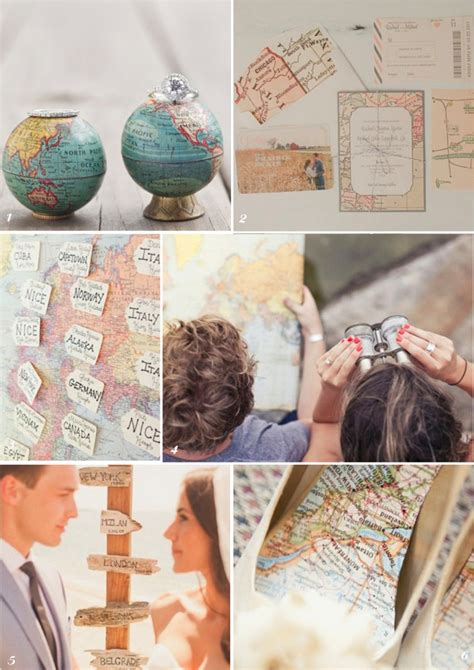 travel theme decor travel themed weddings pinaytraveller