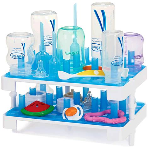 Drying Rack Lucky Baby baby bottle rack with cover cosmecol