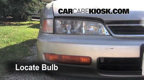 how petrol cars work 1997 honda accord spare parts catalogs 1996 honda accord turn signal headlight and tailight replacement how to youtube