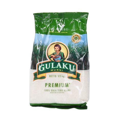 Gula Pasir 250 Gram jual gulaku premium 500 g harga kualitas terjamin blibli