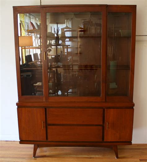 mid century china cabinet mid century modern china cabinet hutch 4 picked vintage