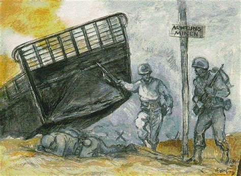 D Day Sketches by Prints Drawings Watercolors From The S K Brown