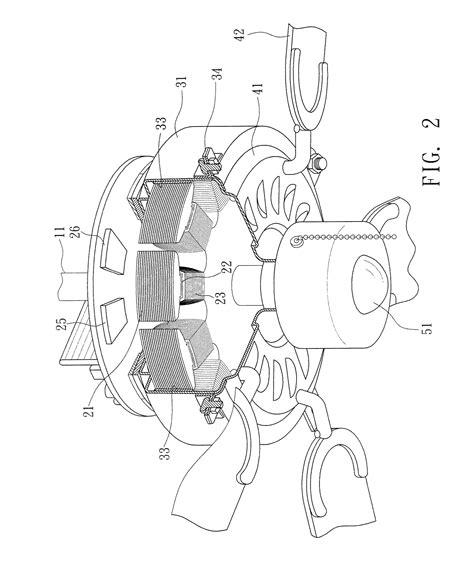 ceiling fan motor winding diagram patent us8093860 ceiling fan motor with generator