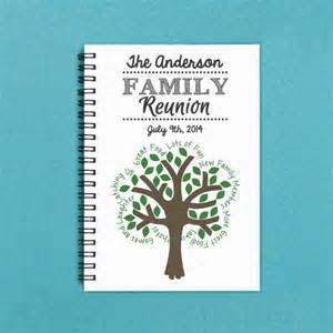 family reunion booklet sle family reunion personalized 5 x 7 family by flamingoroadjournals