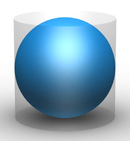 archimedes sphere and cylinder file archimedes sphere and cylinder crop png