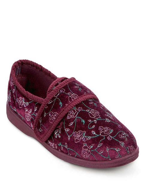 washable slippers trueform washable slipper ladieswear footwear
