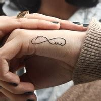 tattoo infinity in hand infinity tattoo images designs