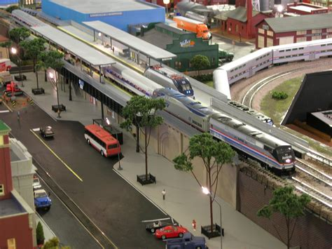 Small Cabin Layouts ho scale elevated amtrak station renovation hd youtube