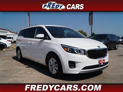 2016 kia sedona lx in houston tx fredy used car sales