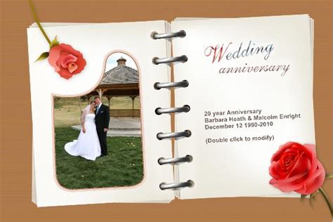 anniversary cards templates free photo templates wedding anniversary cards