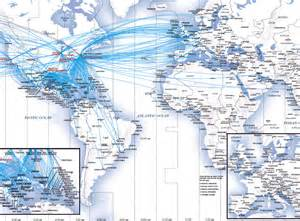 united airlines flight map images