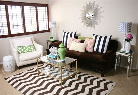 chevron living room chevron rug contemporary living room serendipity interiors