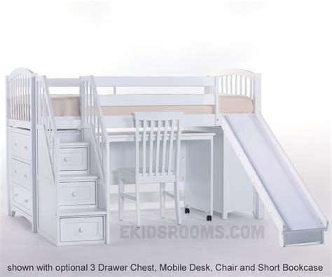 Bunk Bed With Stairs And Slide Bunk Beds With Stairs And Slide Bunk Beds With Stairs And Slides Decorate My House