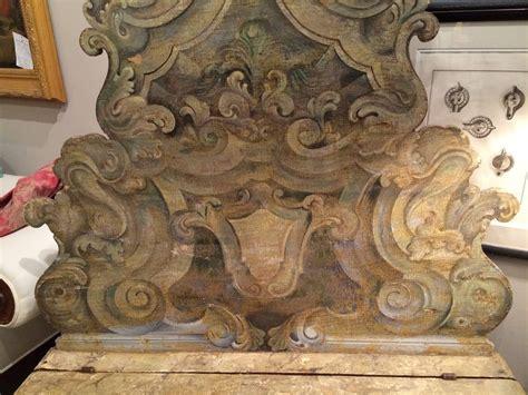 john hall bench italian baroque painted hall bench at 1stdibs