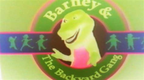 barney and the backyard gang theme song barney and the backyard gang theme song in g major youtube