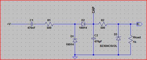 zener diodes ltspice understanding cs5463 s basic circuit power supply electrical engineering stack exchange