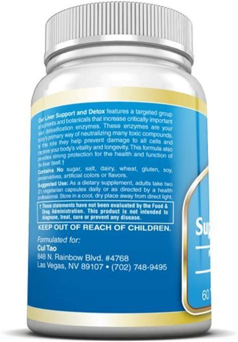 Liver Detox Vitamin C by Premium Liver Support Detox Cleanse Supplements W Milk