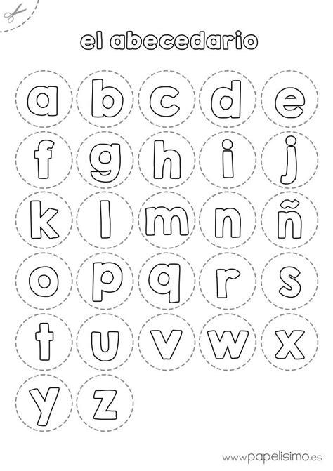 letras para ni241os abecedario para colorear y recortar http papelisimo es abecedario para colorear y recortar