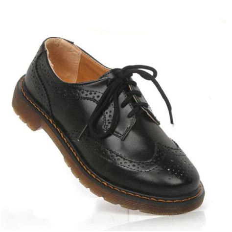 flat shoes lace up buy patent leather lace up oxford flat shoes