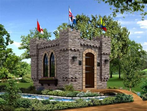 mini schloss homeaid houston unveils mini castle for project playhouse