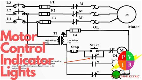 motor control start stop station  indicator lights youtube