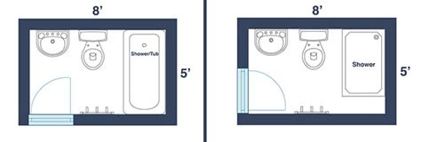 bathroom design dimensions 7 awesome layouts that will make your small bathroom more usable