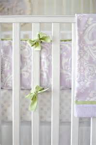 Lavender And Green Crib Bedding Lavender Crib Bumper Crib Bumpers Crib Bumper Pads