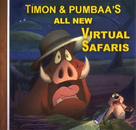Timon and Pumbaa Virtual Safari   Universal Studios Theme