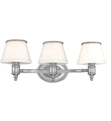 Hudson Valley Bathroom Lighting Hudson Valley 4943 Pn Richmond Polished Nickel 3 Light Bath Vanity Light Ls