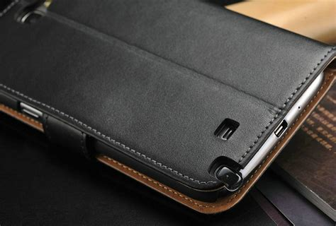 leather wallet case for samsung galaxy note 2 n7100 case