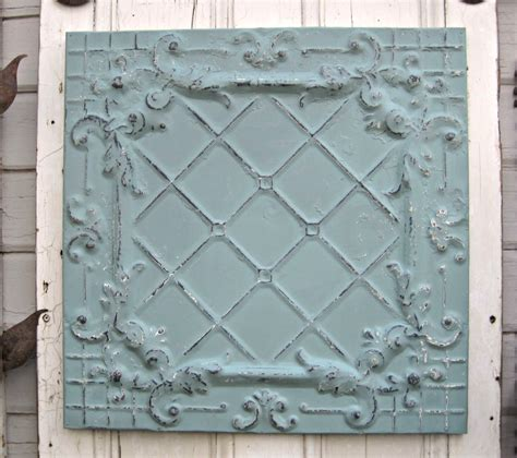 antique ceiling tin tile framed 2x2 antique metal tile