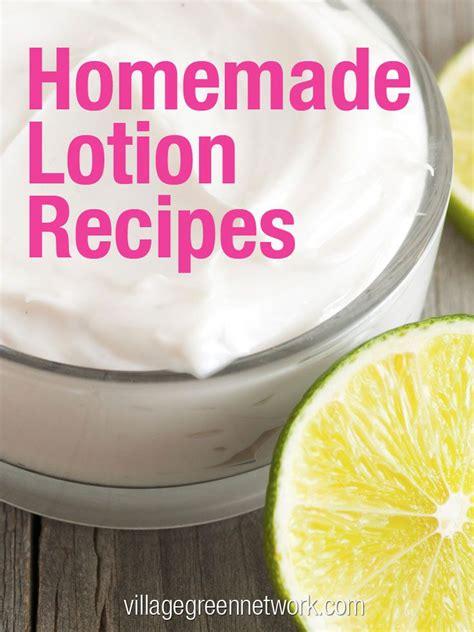 Handmade Lotion Recipes - lotion recipes diy recipes