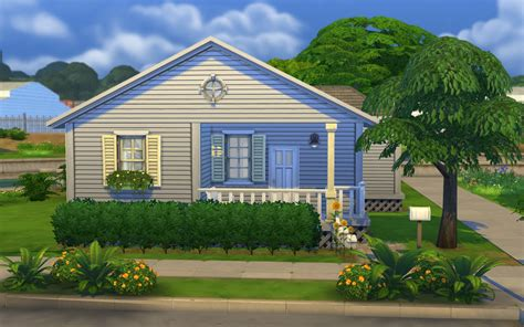 my sims 4 sunflower cottage starter home by tiki