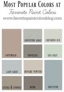 most popular colors favorite paint colors blog