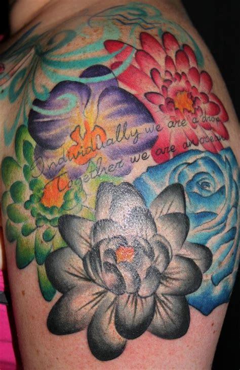 tattoo flower birth month birth month flowers tattoos pinterest