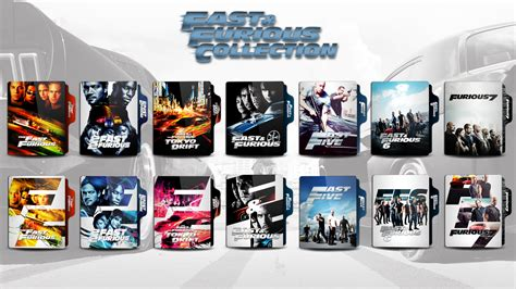 Fast Furious Collection fast and furious collection folder icon by faelpessoal on