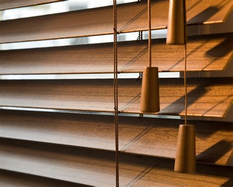 Wooden Slat Blinds by American Shutters 174 Blinds Showroom